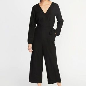 Old navy black jumpsuit